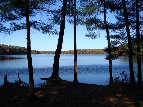 new england lake tranquility