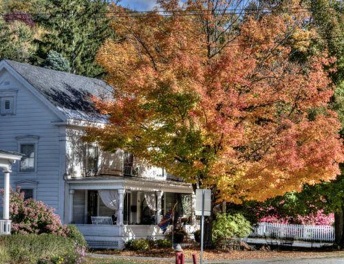 New England Fall Home
