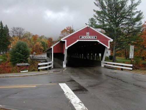 new hampshire covered bridge jackson