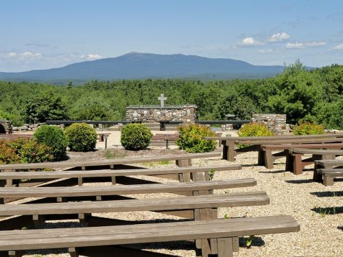 new hampshire cathedral of the pines mountains