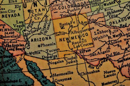 new mexico southwest america