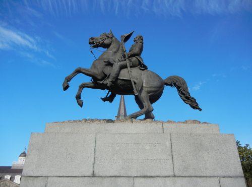 new orleans jackson square statue