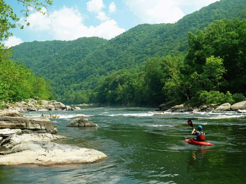 new river west virginia river rafting