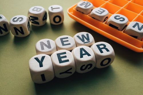 new year words celebrate