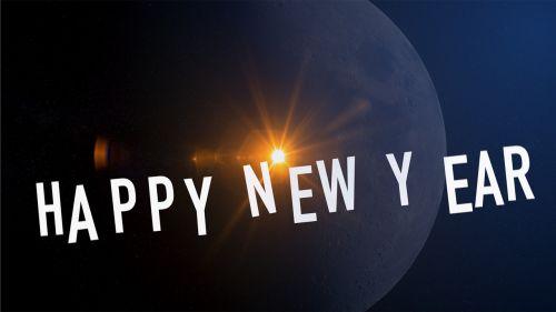 new year greeting 2018