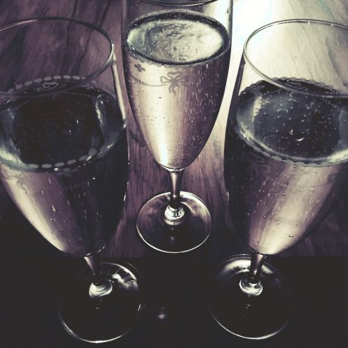 new year bubbly sparkling