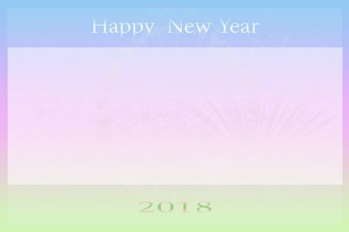 new year's card new year's day map