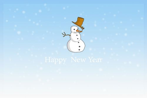 new year's day,new year,happy new year,turn of the year,new year's eve,new year greeting,greeting card,map,postcard,snow man,winter,annual financial statements,sylvester