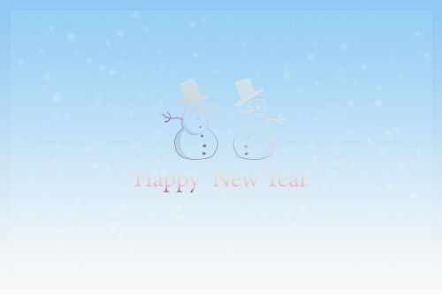 new year's day,happy new year,new year's card,greeting card,postcard,new year's eve,turn of the year,sylvester,greeting,snowmen,winter