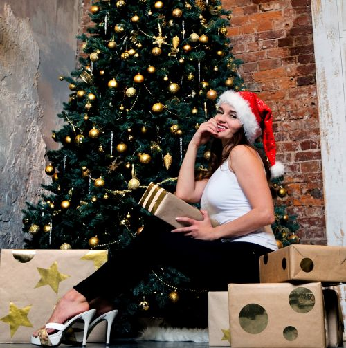 Smile Toys And Joys : Swag christmas new year s eve logo element free photo