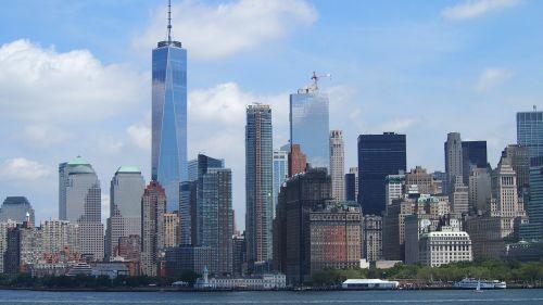 new york skyline new york city