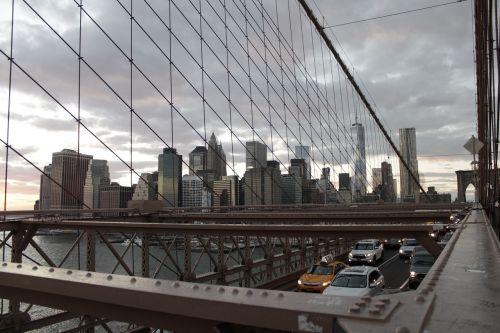 new york brooklyn bridge city