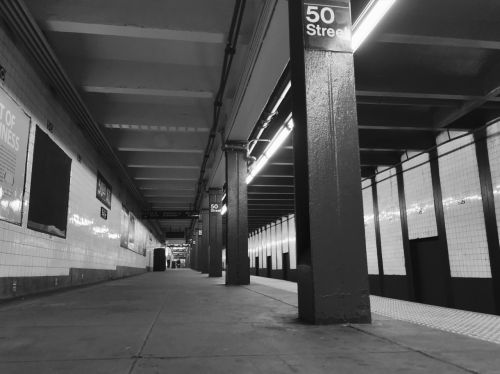new york subway 50th street