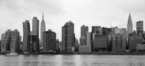 new york skyline east river