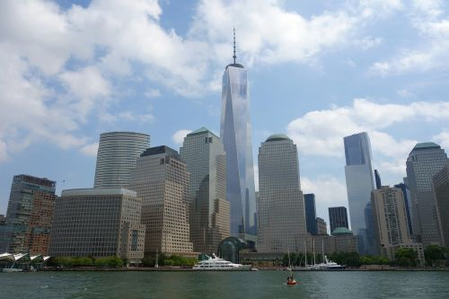 new york skyline world trade center