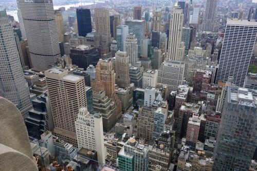 new york street canyon view