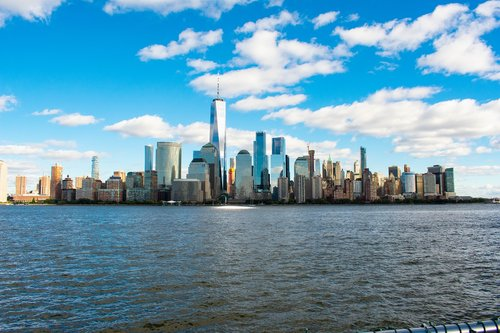 new york  newyork  new york skyline