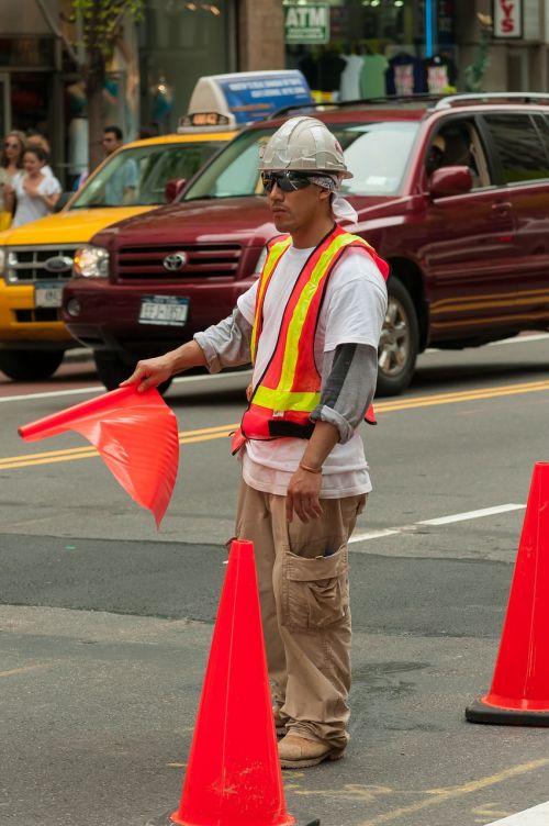 new york work man