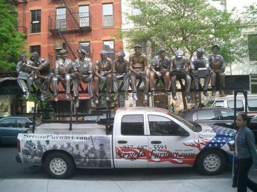 new york city statue