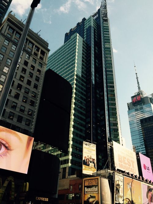 new york building busy