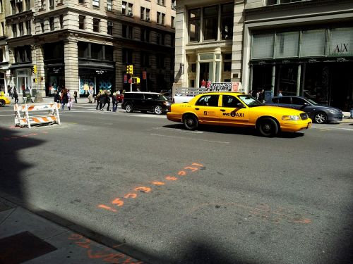new york cab new york taxi yellow cab