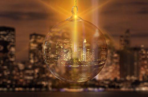 new york city christmas ornament christmas