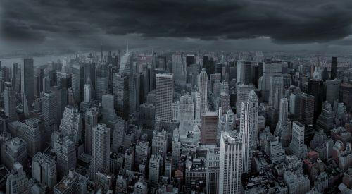 new york city skyline city