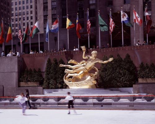 new york city rockefeller center ice skating