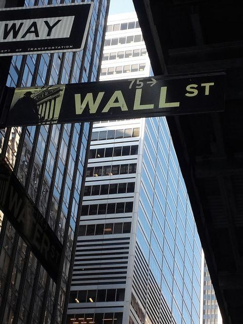 new york city wall street stock market