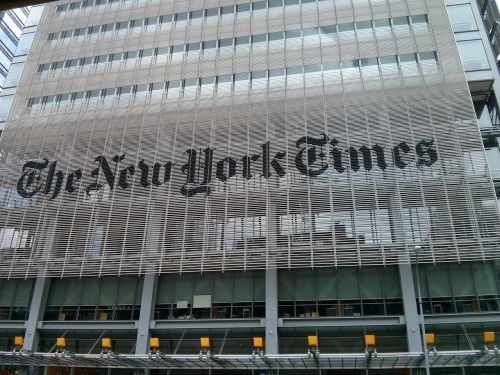 new york times editorial main building