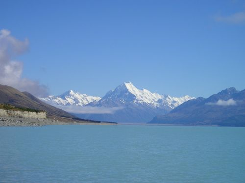 new zealand mount cook aoraki
