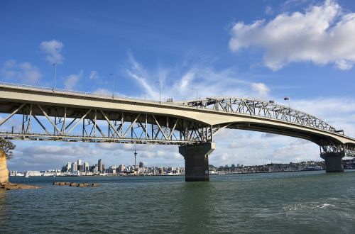 new zealand harbor bridge auckland