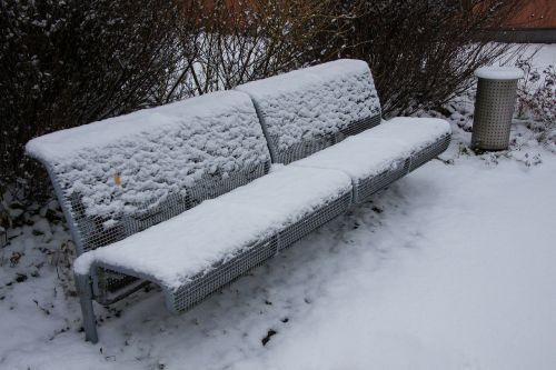 new zealand snow park bench