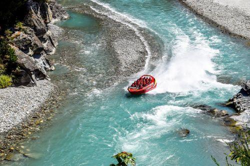 Naujoji Zelandija,Queenstown,rojus,kalnas,įsiuvas,vanduo,ežeras,neįtikėtinas,upė,jet valtis,upės valtis,greitaeigė valtis,dreifas