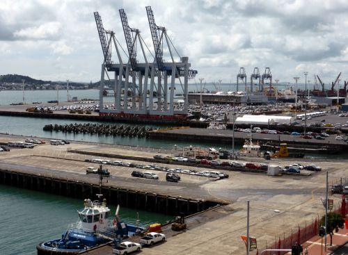 new zealand auckland port