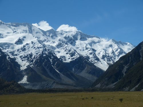 new zealand south island southern alps