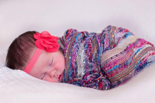 newborn girl baby