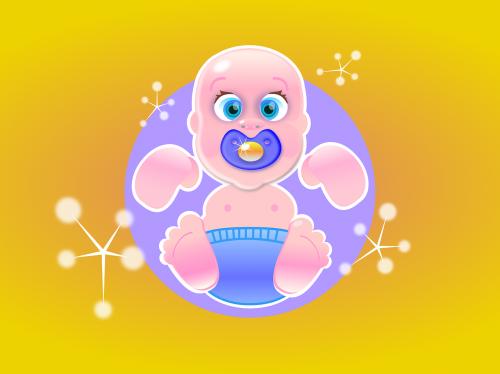 newborn offspring baby