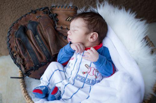 newborn baseball glove