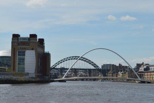newcastle newcastle upon tyne millennium bridge
