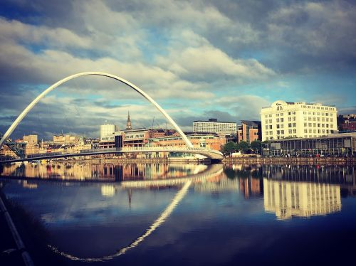 newcastle blue reflection