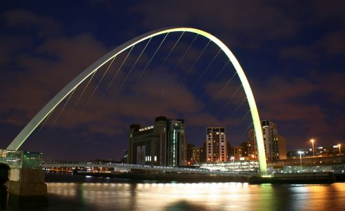 newcastle millenium bridge