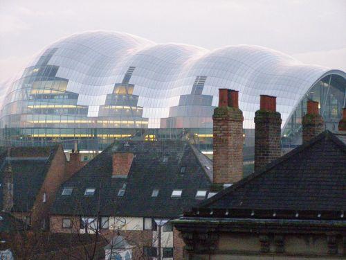 newcastle buildings modern