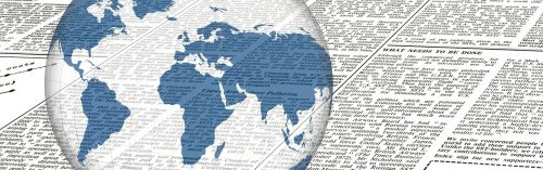 news newspaper globe