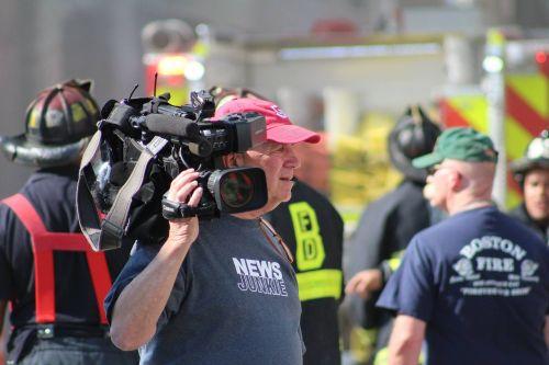 news camera media