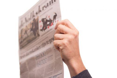 newspaper news read