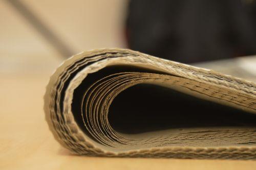 newspaper newspaper blur blurry newspaper