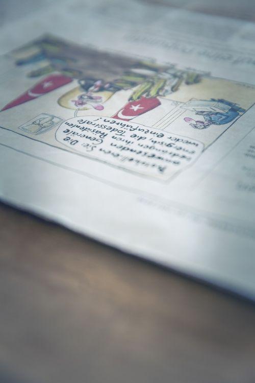 newspaper info medium
