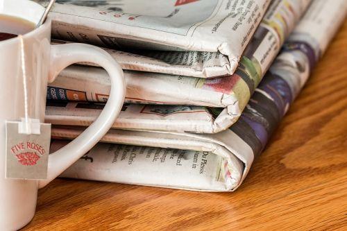 newspaper news media print media