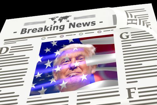 newspaper news trump